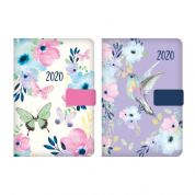 Tallon 2020 A6 Butterfly / Hummingbird Organiser Day to a Page Diary